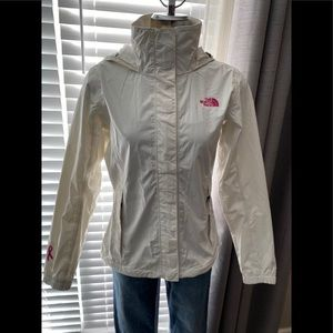The North Face White Spring Jacket